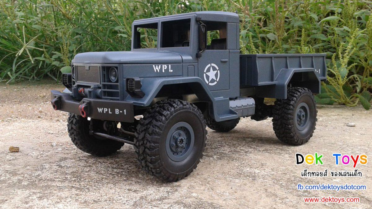รถบรรทุกทหารบังคับวิทยุ ขับเคลื่อน 4 ล้อ วิทยุบังคับแบบไกปืน คลื่น 2.4GHz