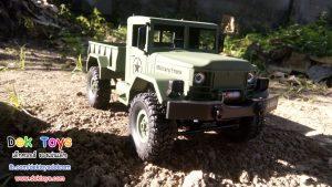 รถทหารบังคับวิทยุ Heng Long ขับเคลื่อน 4 ล้อ สีเขียว