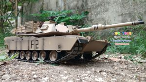 รถถังบังคับวิทยุ M1A2 Abrams สเกล 1/16